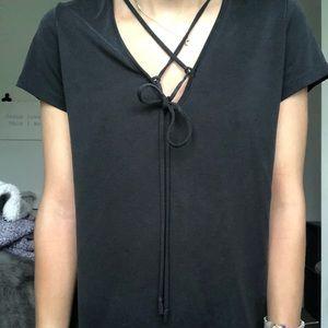 strappy tshirt